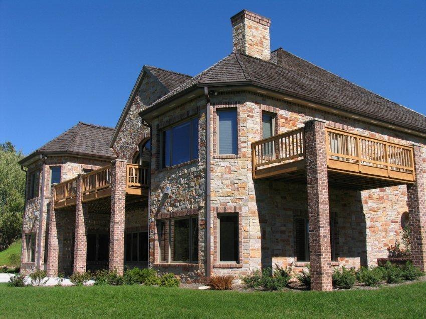 этом году дом из природного камня проекты и фото того, что