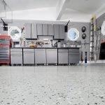 Закрытая система хранения в гараже