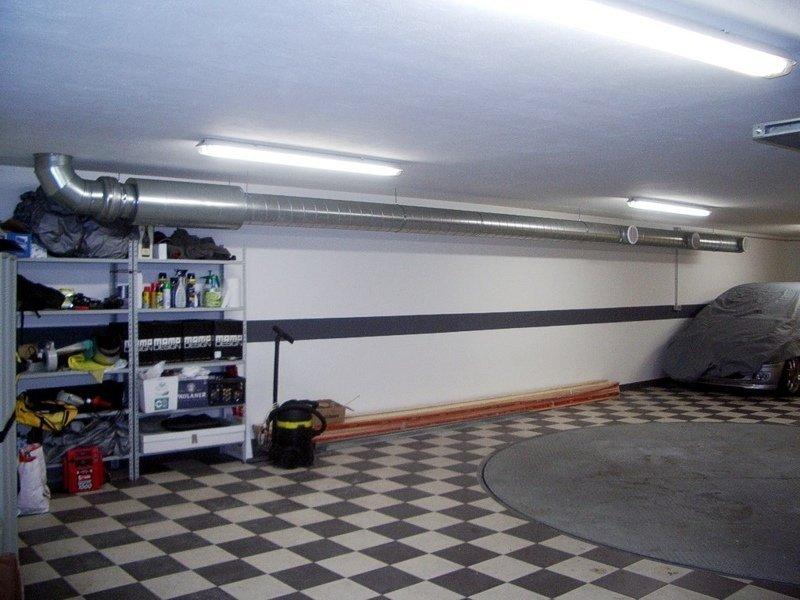 Механическая вентиляция в гараже
