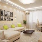 Светлая гостиная
