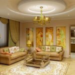 Дизайнерский ремонт в гостиной