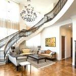 Роскошная лестница в особняке