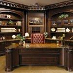 Классическая мебель для кабинета босса