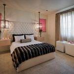 Стильный интерьере спальни