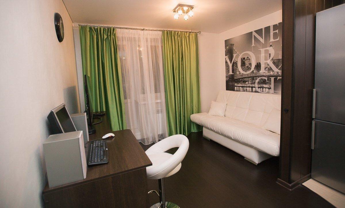 дизайн одной комнаты в общежитии фото спокойный тон, общение