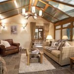 Country style cottage interior