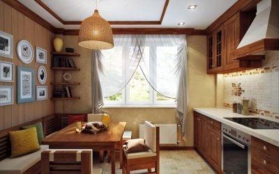 Дизайн интерьера кухни 11 кв. м