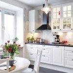 Винтажные мотивы в декоре кухни