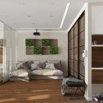 Место для гостей в небольшой квартире