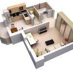 Апартаменты для современной семьи