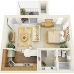 Апартаменты с лоджией