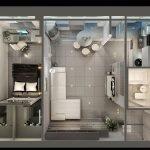 Современная квартира в новостройке