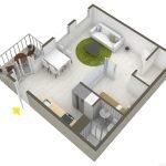 Небольшая квартира для пары