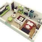 Расположение мебели в доме