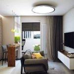Стильный декор квартиры 42 м кв