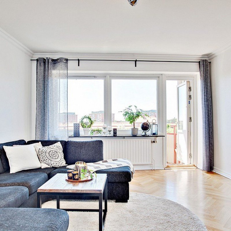 Дизайн трехкомнатной квартиры 65 кв м