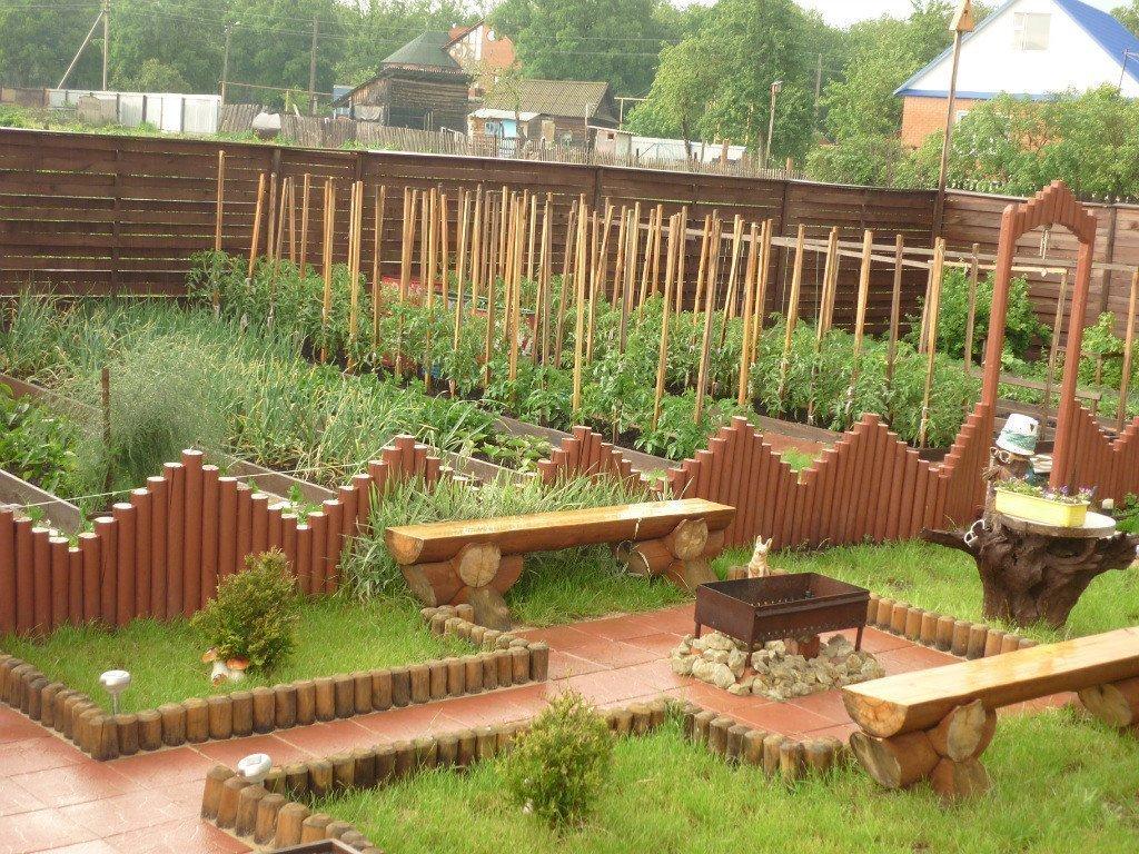 Дизайн огорода своими руками картинки фото фото 291