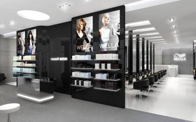 Как оформить дизайн парикмахерской +50 примеров