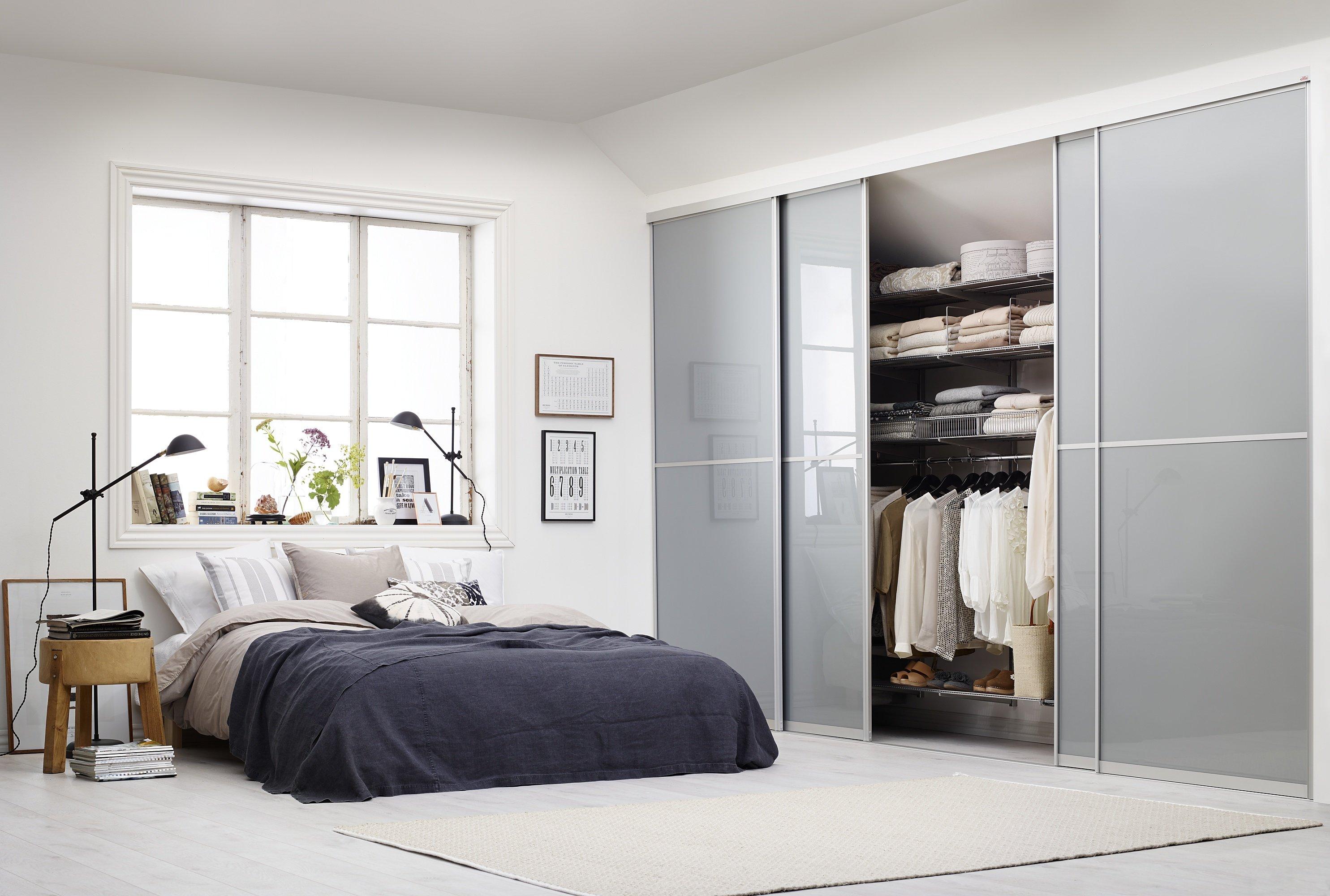 Спальня в стиле минимализм частном доме