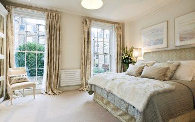 Спальня в частном доме: дизайн и интерьер