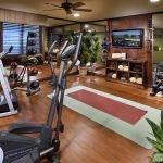 Уютная комната для спорта