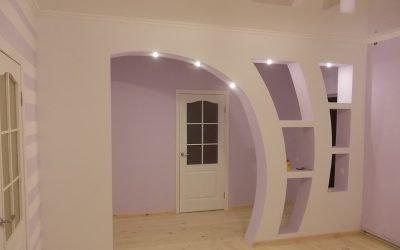 Дизайн арки и способы декора +75 фото
