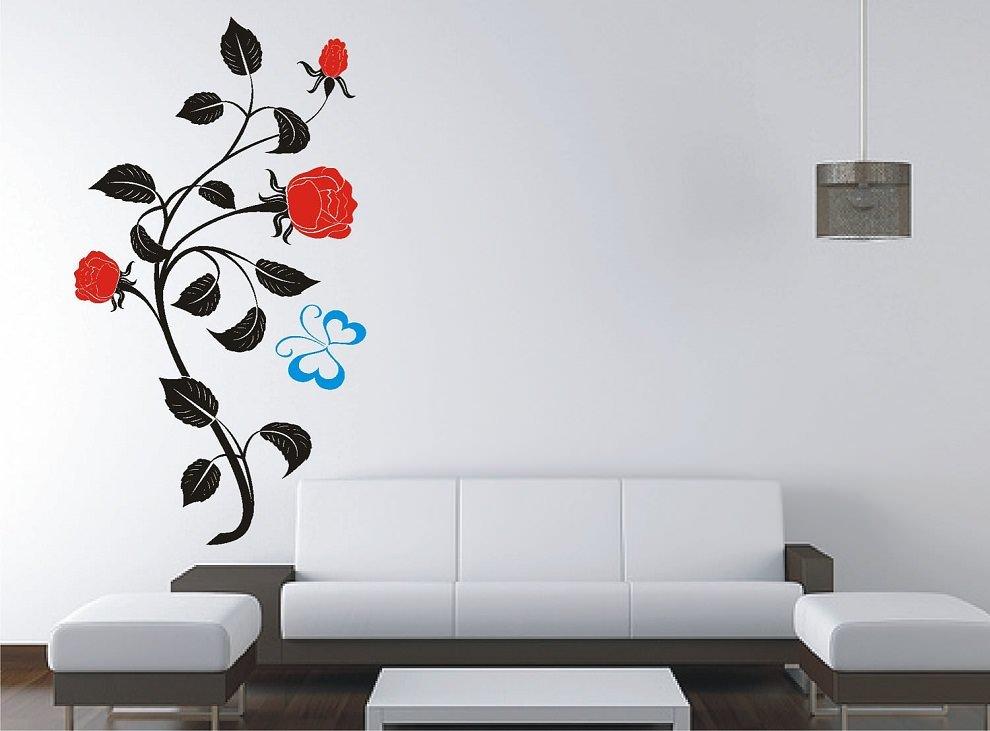 красивые рисунки на стену дома качестве