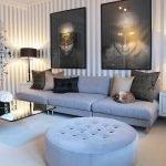 Креативный дизайн гостиной