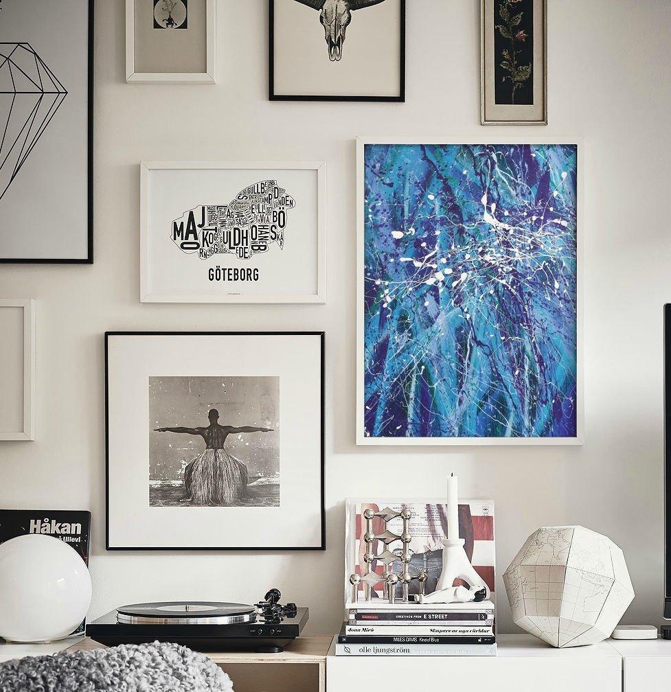 Современные постеры и картины в интерьере