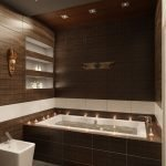 Ниши в стене в ванной