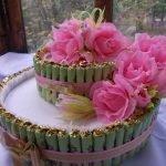 Бантики на торте