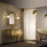 Мебель цвета золота