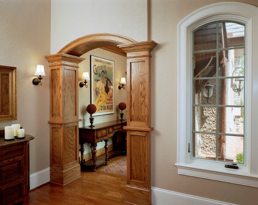 дверные проемы оформление без дверей фото ложа такого типа