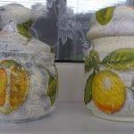 Лимоны на баночках