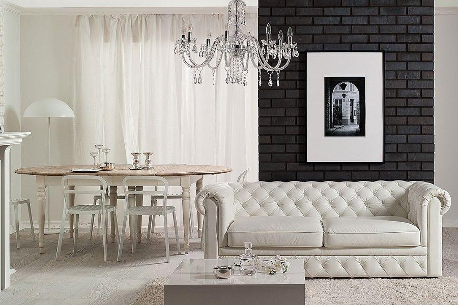 Классический дизайн зала