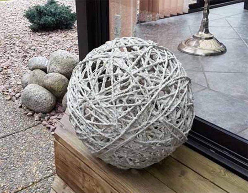 Ажурный шар для сада