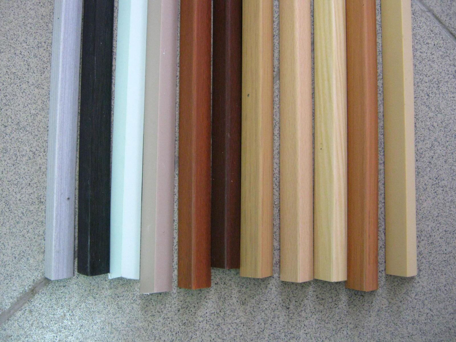 Plastic corners for repair