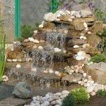 Декор из камешков
