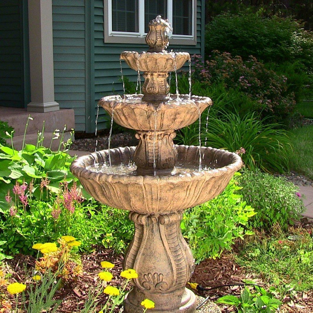 фото фонтанов в огороде как быть