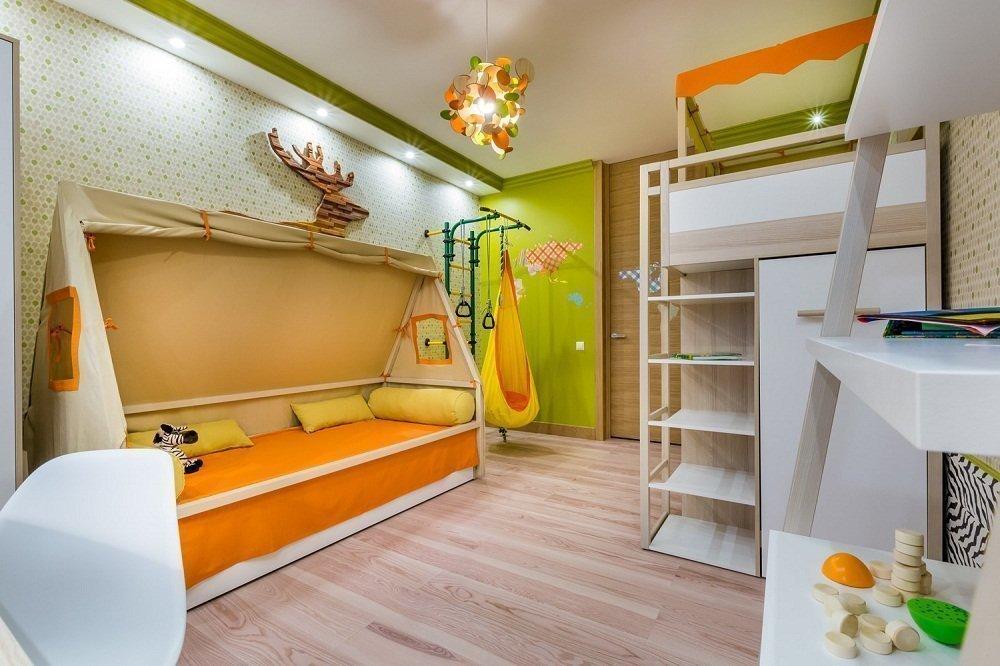 Мебель в детской 12 кв м