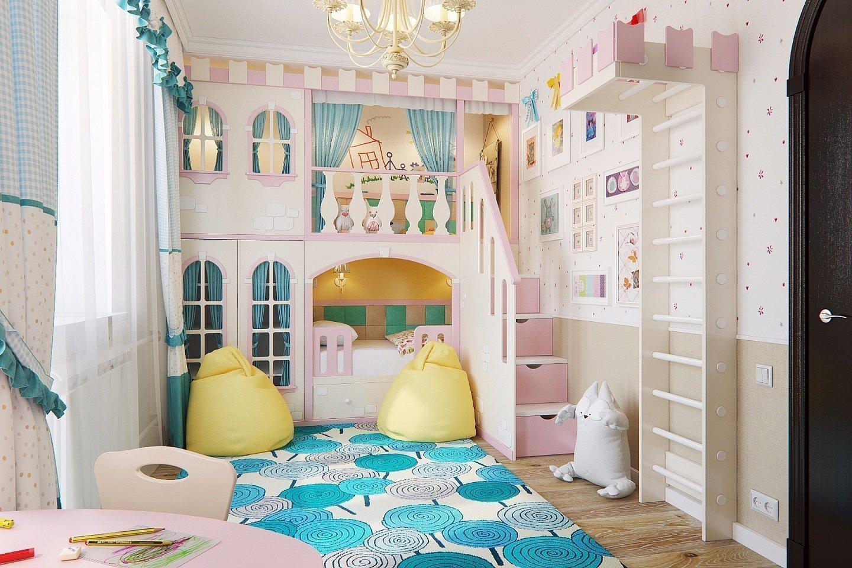 Кровать в виде замка