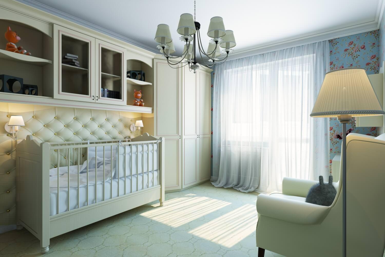Комната для новорожденного 12 кв м