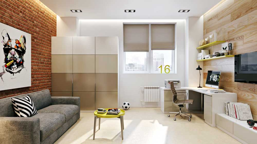 Комната 12 кв м для подростка