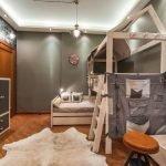Лофт в интерьере спальни для ребенка