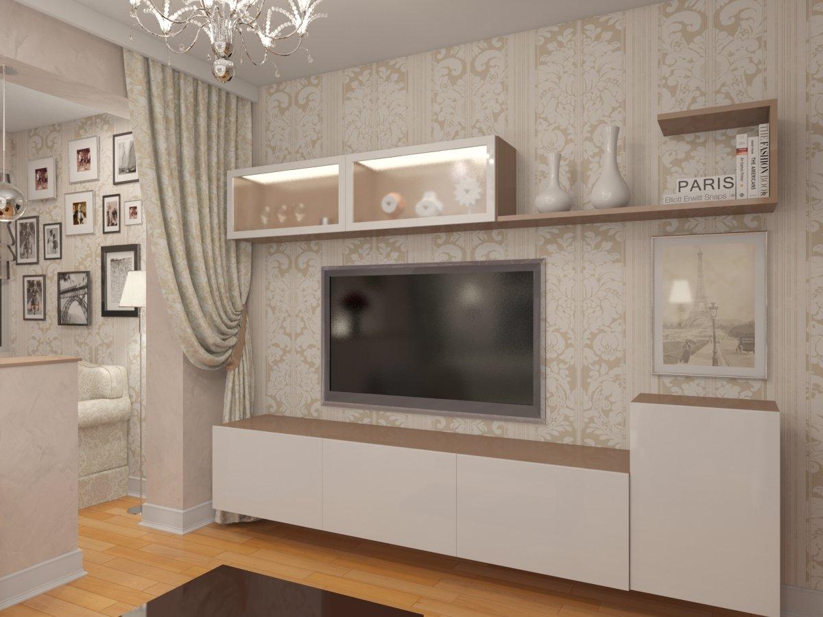 Двухкомнатная квартира серии п44т для семейной пары с 2 детьми