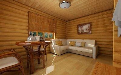 Идеи дизайна комнаты отдыха в бане