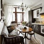 Кухня в стиле ретро