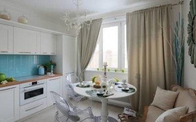 Дизайн кухни с диваном: советы по выбору
