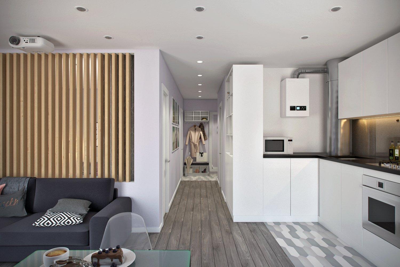 Дизайн квартиры 45 кв м