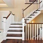 Прованс в дизайне лестницы